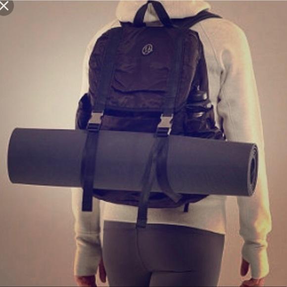 212aea30bc31 lululemon athletica Handbags - Lululemon Wanderlust backpack black super  rare!